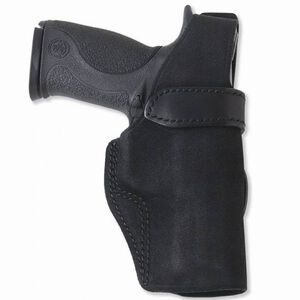 Galco Wraith GLOCK 26, 27, 33 Belt Holster Thumb Break Right Hand Leather Black WTH286B