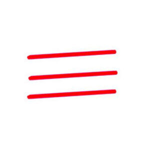 Ed Brown Replacement Fiber Rod Red 3 Pack