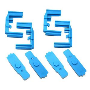 Hexmag HexID AR-15 Mag Color Identification System Blue 4 Pack HXID4-AR-BLU