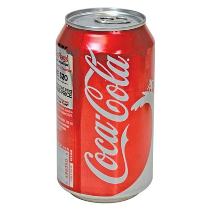 Personal Security Products Coca-Cola Stealth Can Safe Aluminum CSCOCA
