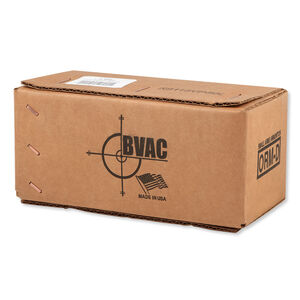 BVAC 9mm Luger Ammunition 500 Rounds Reloaded FMJ 115 Grains R9115VP500