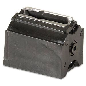 Ruger 77/17 and 77/22 WMR and American Rimfire Rotary Magazine .17 HMR/.22 WMR 9 Rounds Polymer Construction Matte Black