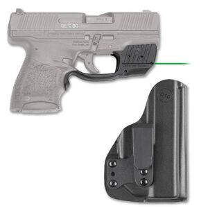 Crimson Trace LG-482G-HBT Green Laser Guard with Blade-Tech Holster For Walther PPS M2 Right Hand Draw Matte Black