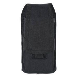 VooDoo Tactical Radio Pouch 4.5 x 2 x 9 Inches Black