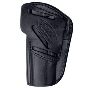 Tagua 4 In 1 Holster Inside the Pants Ruger LCP with Laser Right Hand Leather Black Finish IPH4-005