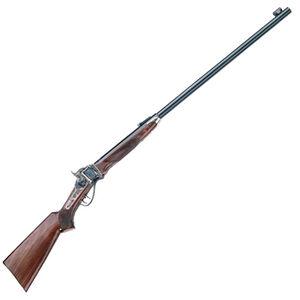 "Pedersoli 1874 Sharps Long Range Single Shot Rifle .45-70 Govt 34"" Barrel 1 Round Case Hardened Receiver Walnut Stock Blued S.788-457"