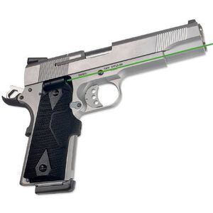 Crimson Trace LG-401G LaserGrips Green Laser Fits Full Size 1911 Government Models Matte Black