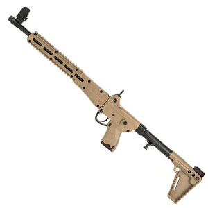 "Kel-Tec SUB-2000 G2 .40 S&W Semi Auto Rifle 16.25"" Barrel 10 Rounds M-Lock Compatible GLOCK 22/23 Magazines Adjustable Stock Tan Finish"