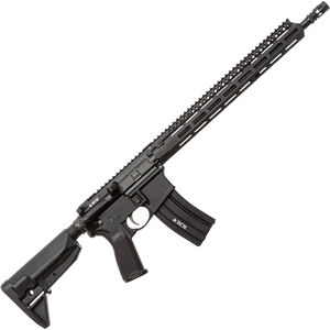 """Bravo Company USA RECCE-16 MCMR AR-15 Semi Auto Rifle 5.56 NATO 16"""" Barrel 30 Rounds M-LOK Handguard Collapsible Stock Black"""