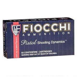 Fiocchi Shooting Dynamics .357 SIG Ammunition 50 Rounds 124 Grain Full Metal Jacket 1350fps