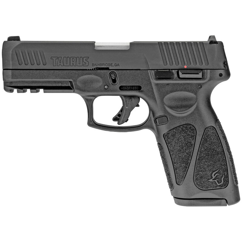 """Taurus G3 9mm Luger Semi Auto Pistol 4"""" Barrel 15 Rounds Steel Sights Manual Thumb Safety Polymer Frame Matte Black"""