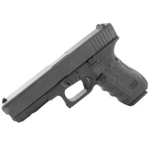 TALON Grips GLOCK Gen1-3 Compact Models 17/ 22/ 24/ 31/ 34/ 35/ 37 Rubber Adhesive Grip Black