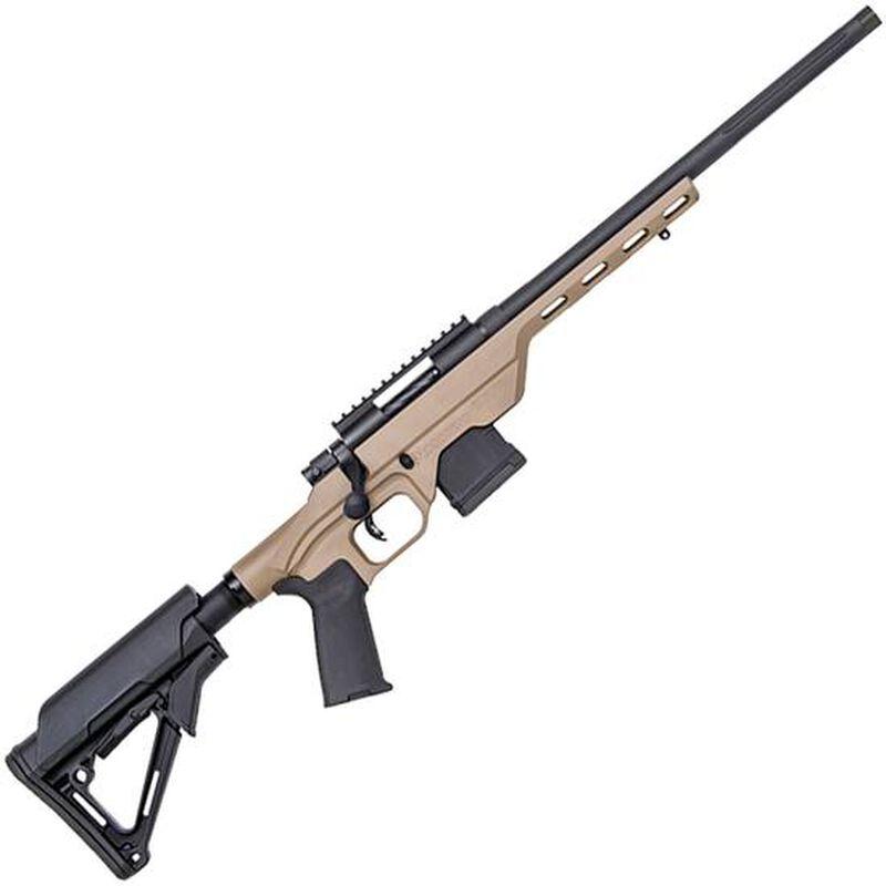 "Mossberg MVP LC Bolt Action Rifle .223 Rem 16.25"" Fluted Bull Barrel MDT LSS Light Chassis FDE Stock Matte Blued Finish"