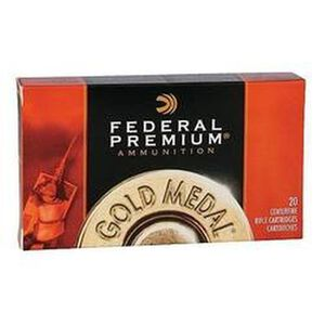 Federal Gold Medal Match 300 WinMag 190gr SMKBTHP 20rds