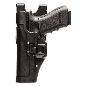 BLACKHAWK! SERPA Level 2 Duty Belt Holster for GLOCK 17/19/22/23 Left Hand Black