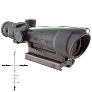 Trijicon ACOG TA11J-G 3.5x-35 Scope Illuminated Green Crosshair .223 Ballistic Reticle 1/3 MOA Aluminum Matte Black with TA51 Mount TA11J-G