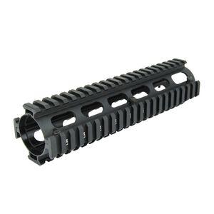 "TacFire AR-15 Two Piece Drop-In Quad Rail Handguard 9"" Aluminum Black HG01-9"