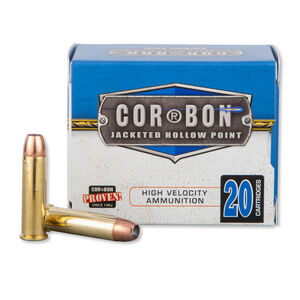 Cor-Bon .357 Magnum Ammunition 20 Rounds, JHP, 125 Grains