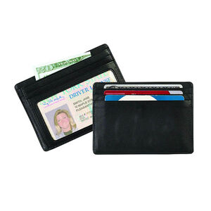 Strong Leather Company Personal Weekend Wallet Black
