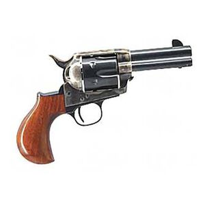 "Cimarron Thunderer Revolver .45 Long Colt 3.5"" Barrel 6 Rounds Wood Grips Case Hardened Finish"