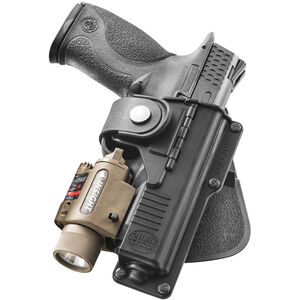 Fobus Tactical Paddle Holster For GLOCK 9mm/.40 And S&W M&P 9mm/.40 Right Hand Polymer Black BT17