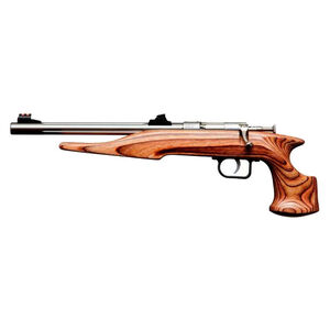 "Chipmunk Pistol Hunter Bolt Action Pistol .22 Long Rifle 10.5"" Barrel Single Shot Laminate Brown Stock Blued Finish 40004"