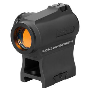 Holosun Gold Dot Sight 2 MOA Dot 20mm with 1/3 Mount HE430R-GD