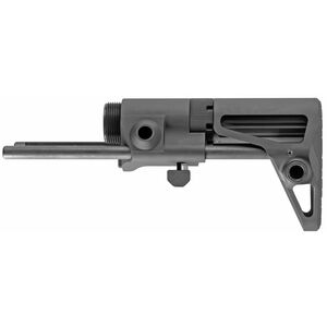 Maxim Defense SCW Gen 7 Stock for AR-15 Rifles Matte Black Finish