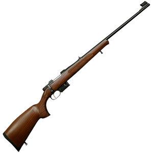 """CZ-USA 527 Lux .223 Remington Bolt Action Rifle 23.625"""" Barrel 5 Round Magazine Walnut Stock Blued Finish"""