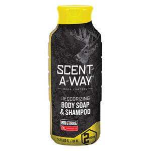 Scent-A-Way Bio-Strike Odor Eliminator Body Soap & Shampoo 24 oz