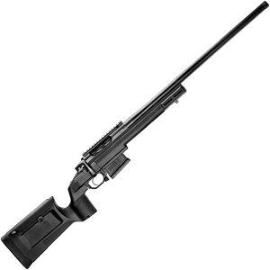 "Seekins Precision HAVAK Bravo 6.5mm PRC Bolt Action Rifle 24"" Barrel 20 MOA Rail Black KRG Bravo Chassis Matte Armor-Blak Finish"