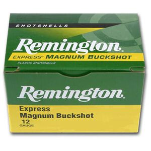 Remington 12 Gauge Ammunition Five Rounds 15 Pellets 00 Buck 3""