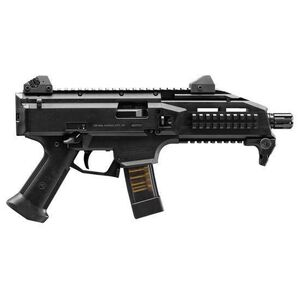 "CZ Scorpion EVO 3 S1 Pistol Semi Auto Pistol 9mm Luger 7.72"" Barrel 20 Rounds Low Profile Fully Adjustable Aperture/Post Fiber-Reinforced Polymer Frame Matte Black"