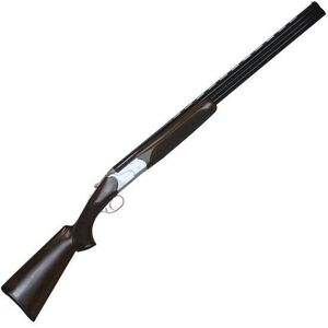 "CZ-USA Redhead Premier Reduced Length Over/Under Shotgun 20 Gauge 24"" Barrels 3"" Chamber 2 Rounds Turkish Walnut/Prince of Wales Grip Receiver Silver Satin Chrome Barrel Gloss Black Chrome 06469"