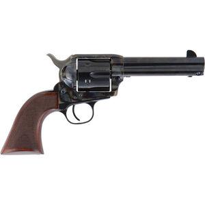 """Cimarron Evil Roy Comp Revolver .45 Colt 4 3/4"""" Barrel 6 Rounds Walnut Grips Case Hardened and Standard Blue Finish"""