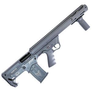 """Black Aces Tactical Pro Series 12 Gauge Pump Action Shotgun 18.5"""" Barrel 2-3/4"""" Chamber 5 Rounds Detachable Box Magazine Bullpup Matte Black"""