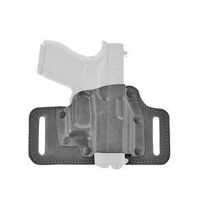 Galco TacSlide HK VP9/VP40 Belt Holster Right Hand Leather/Kydex Black TS428B