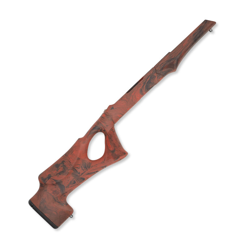 """Hogue Ruger 10-22 Tactical OverMolded Thumbhole Stock .920"""" Barrel Red Lava 22072"""