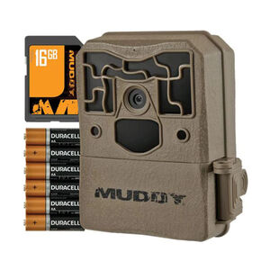 Muddy Outdoors Pro Cam 18 Megapixel Trail Camera Combo Brown