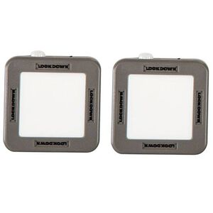 Lockdown Cordless Vault Light Automatic 25 LEDs 70 Lumens Auto On/off 2 Pack 222008