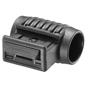 "FAB Defense Flashlight Side Mount for 1"" Tail Cap Activated Lights Polymer Black"