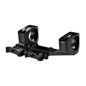 "Warne Scope Mounts XSKEL One Piece Quick Detach AR-15 Skeletonized Scope Mount 1"" Tube Diameter QD Throw Levers Lightweight 6061 Aluminum Matte Black"