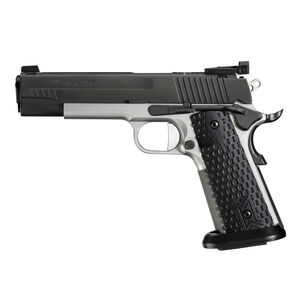 "SIG Sauer 1911 Max Michel Jr .45 ACP Semi Auto Handgun 5"" Barrel 8 Rounds Adjustable Sights Black G10 Grips Two Tone Finish"