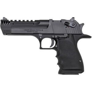 "Magnum Research Desert Eagle Mark XIX L5 .44 Mag Semi Auto Handgun 5"" Barrel 8 Rounds Integral Muzzle Brake Weaver Top Rail Synthetic Grips Black"