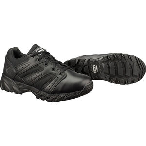 Original S.W.A.T. Chase Low Men's Shoe Size 9.5 Regular Non-Marking Sole Leather/Nylon Black 131001-95