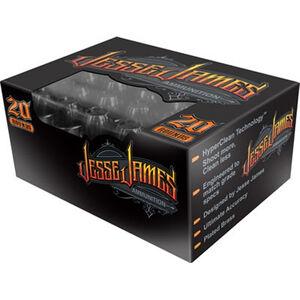 Jesse James Black Label 10mm Auto Ammunition 20 Rounds 180 Grain Hollow Point 1270fps