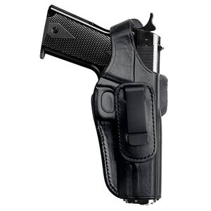 Tagua 4 In 1 Holster with Thumb Break Inside the Pants Ruger LC9 Leather Right Hand Leather Black Finish IPHR4-060