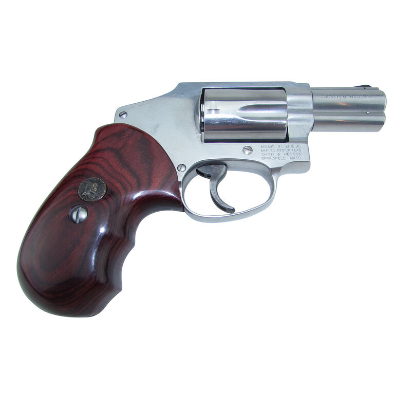 Pachmayr Renegade Wood Laminate Grips S&W J Frame Smooth Rosewood 63010 | Cheaper Than Dirt