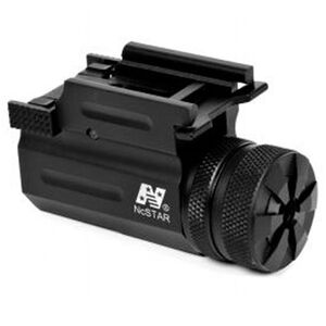 NcSTAR Compact Green Laser with QR Weaver Mount 1 CR2 battery Aluminum Anodized Black
