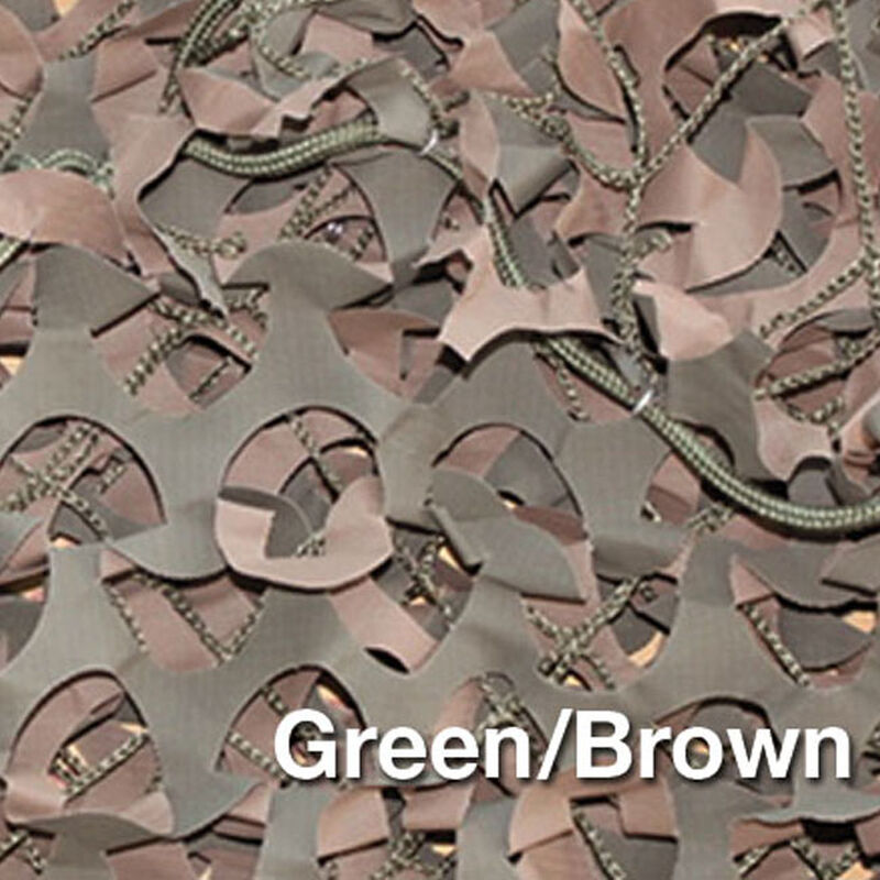 "Camo Unlimited Premium Series Military 9'10""x33 Yards 3D Leaf Like Foliage Reversible Green and Brown"